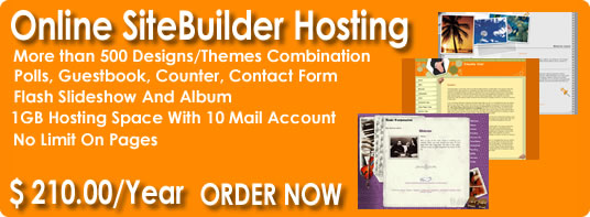 Online Site Builder, Sitbuilder Hosting, cPanel hosting, Ecommerce Hosting, Hosted Ecommerce